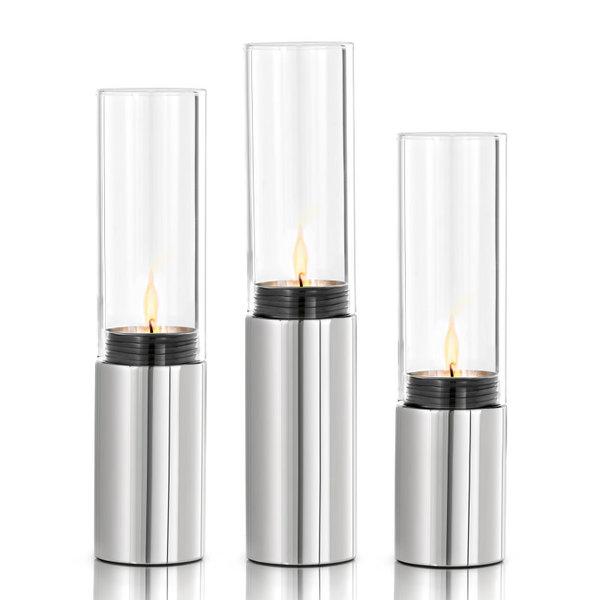 BLOMUS  Комплект свещници 3 бр. FARO - полирани
